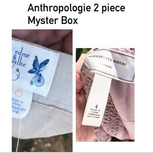 Anthropologie Mystery Box- 2 Pieces